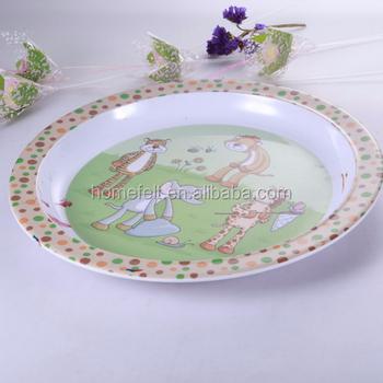flower melamine platemelamine christmas plates