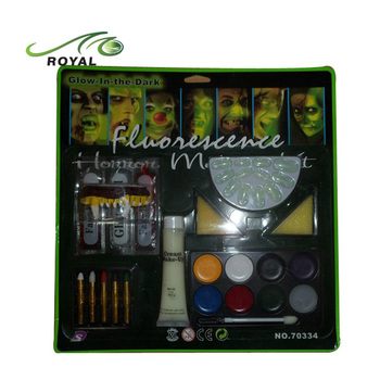 Professional Football World Cup Glow Fluorescence Face Paint