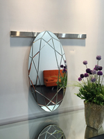 Modern Design Victorian Mirror For Dressroom With Polished Mirror/Home N Decor