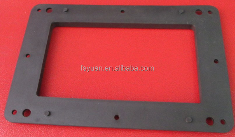 Die Cutting Rubber Washer Gasket / Heat Resistant Rubber Washer ...