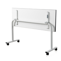 New design modern office simple desk training room desk folding movable training table