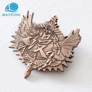 Wholesale cheap custom design metal army pin military badge with your logo