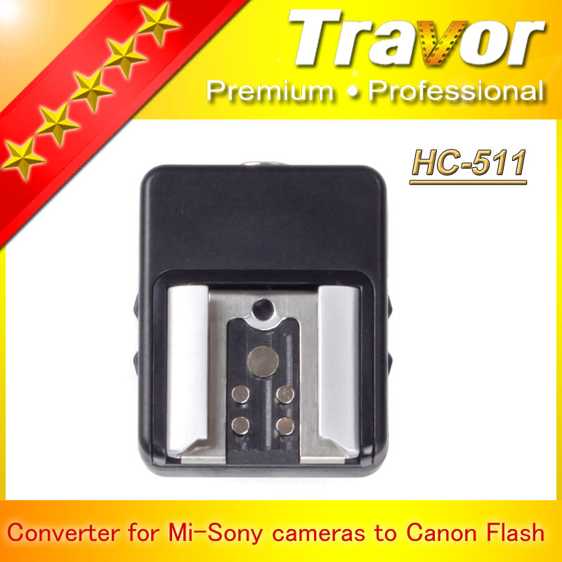 Clearance!!1Travor Camera Hot Shoe supplier Hc-511for Canon Camera Flash