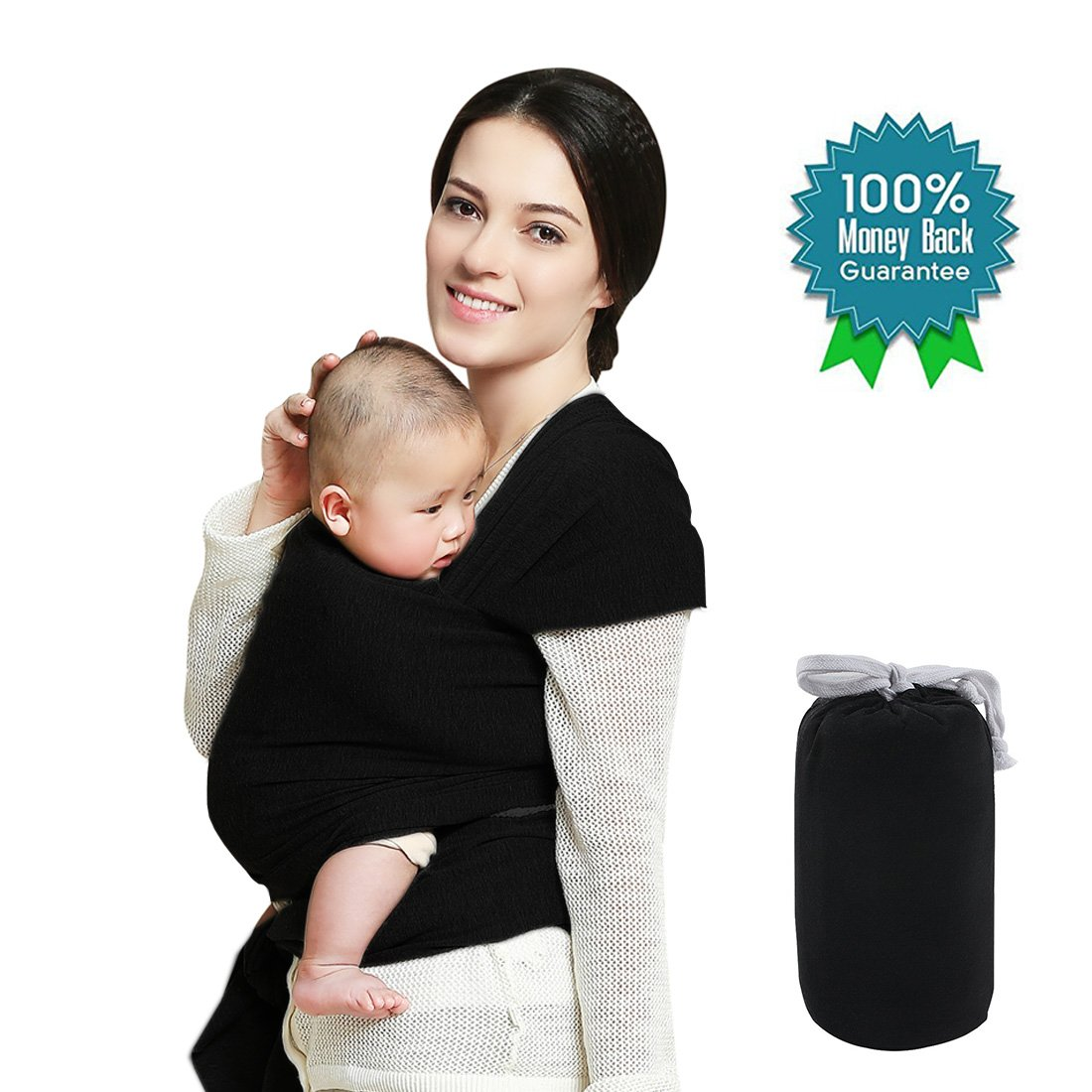 34de23b6e14 Get Quotations · Baby Wrap Carrier up to 35lbs