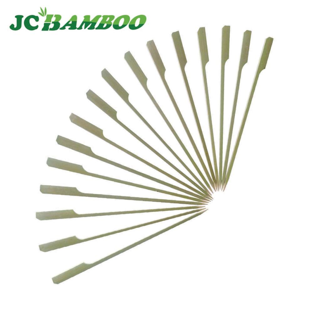 disposable handle wooden skewers for bbq for tornado potatoes