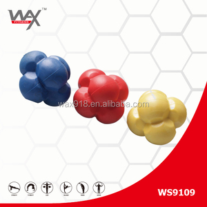 WS9109 3 COLOR fitness Joinfit hexagonal ball reaction ball/ Medium difficulty agility Speed training ball/ table tennis ball