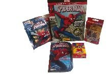 MARVEL SPIDER-MAN ALL FUN ACTIVITY 5 PC Bundle Includes (1) Cra-Z-Art 24 Ct. Crayons~ (1) Spider-Man 96 Pages Jumbo Coloring & Activity Book With 5 Great Feature-Length Spider-Man Thrillers~(1) Ultimate Spider-Man Go Spidey! Board Book~(1) Ultimate Spider-Man 48 PC Puzzle on the Go!~(1) Spider-Man