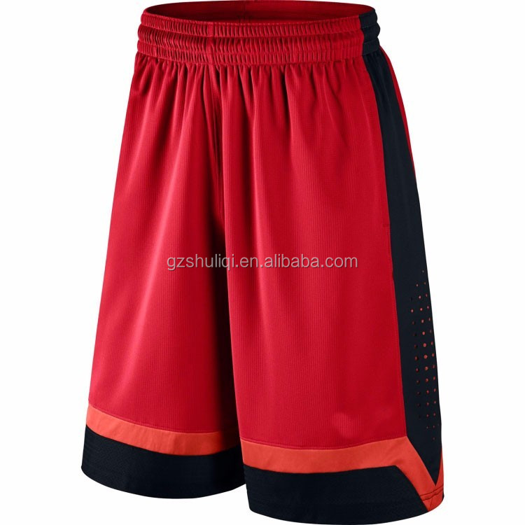 Mens oem basketball shorts from guangzhou China Manufacturer