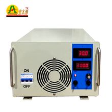 Pabrik Cina 300A/<span class=keywords><strong>30</strong></span> <span class=keywords><strong>V</strong></span> <span class=keywords><strong>Daya</strong></span> Tinggi Regulated Adjustable DC Switching Power Supply Eksperimental Tes Pasokan Peralatan