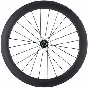 Toray T800 Road Disc Brake 700C 60mm Depth Carbon Tubular Wheels 20/24H