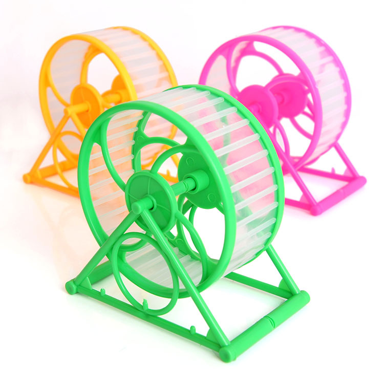 Small Pet Cage Accessories Hamster Roller Exercise Wheel for Hamster Sports Running Spinner Animal Mice Gerbil Jogging play Ball