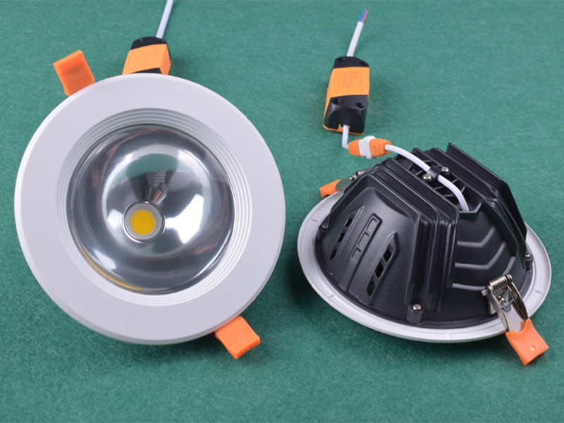 5W 7W 10W 15W 24W COB recessed 100mm round led ceiling down light