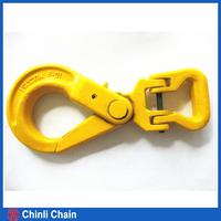 G80 Long Clevis Self Lock Hook for Web Sling ,G80 Web Sling Self Locking Clevis Hook