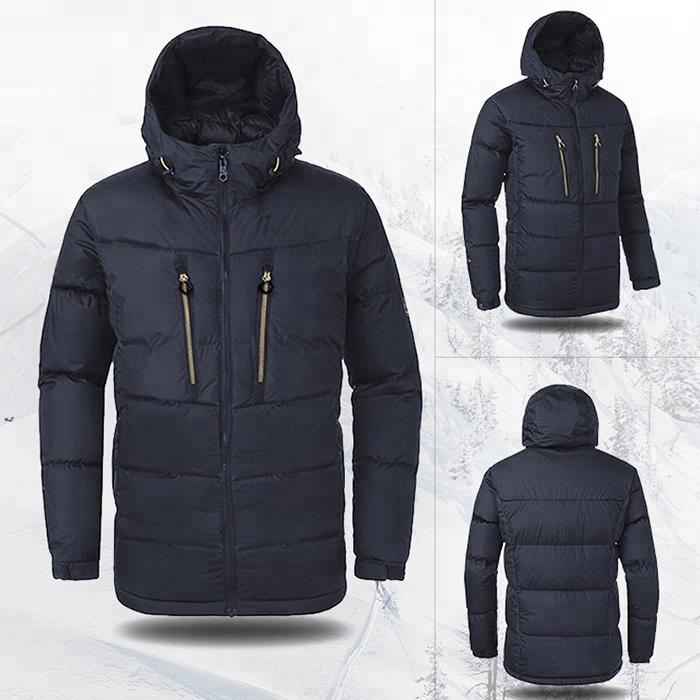 Laki-laki Down Feather Modis Jaket Ski
