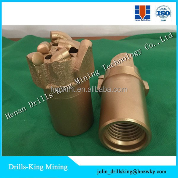 PDC non coring drill bit for geological exploration / coal mining / water conservancy