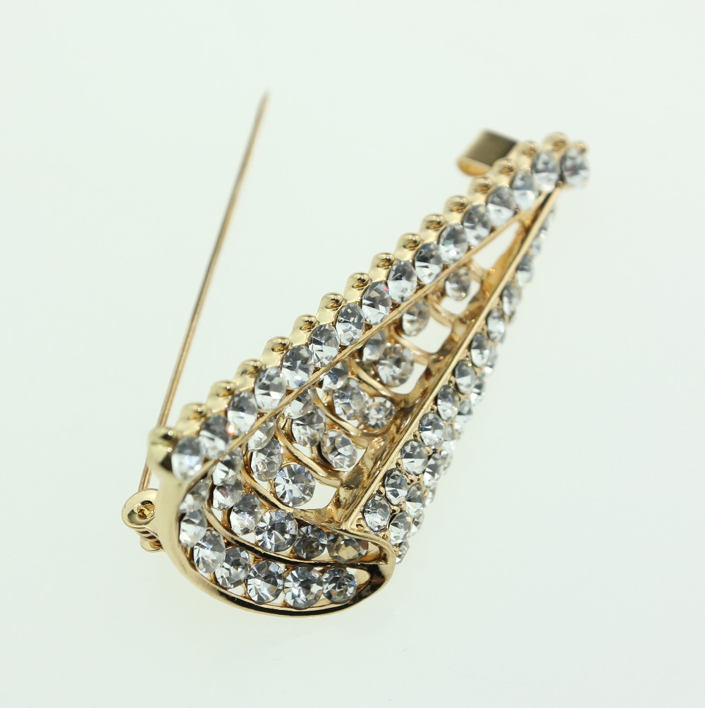 Vintage rhinestone brioches beautiful love brooches for women and brooches pins for dresses women favorite XZ0027