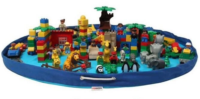 portable enfants enfants infant tapis de jeu grand rangement facile sacs jouets organisateur. Black Bedroom Furniture Sets. Home Design Ideas