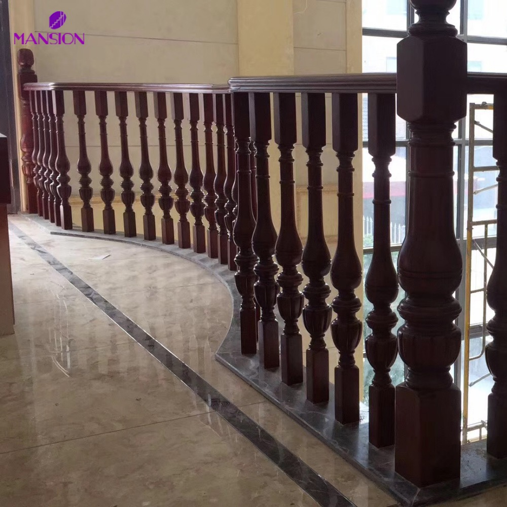 Scala Di Legno Decorativa interni decorativi scala in legno ringhiera-balaustre e