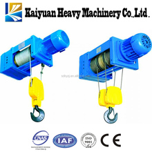 Material Handling Customized CD/MC Hoisting Machine 1t Lifting Equipment with Wire Rope Electric Hoist for Malaysia