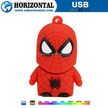 2016 hottest selling marvel 3D superhero usb flash drive