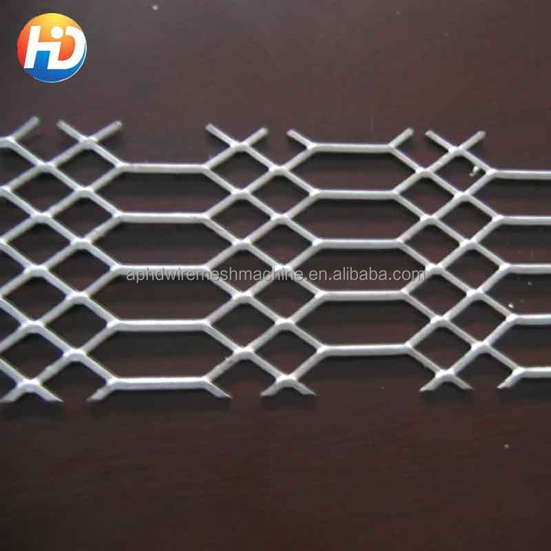 electro galvanized heavy duty expanded metal sheet mesh
