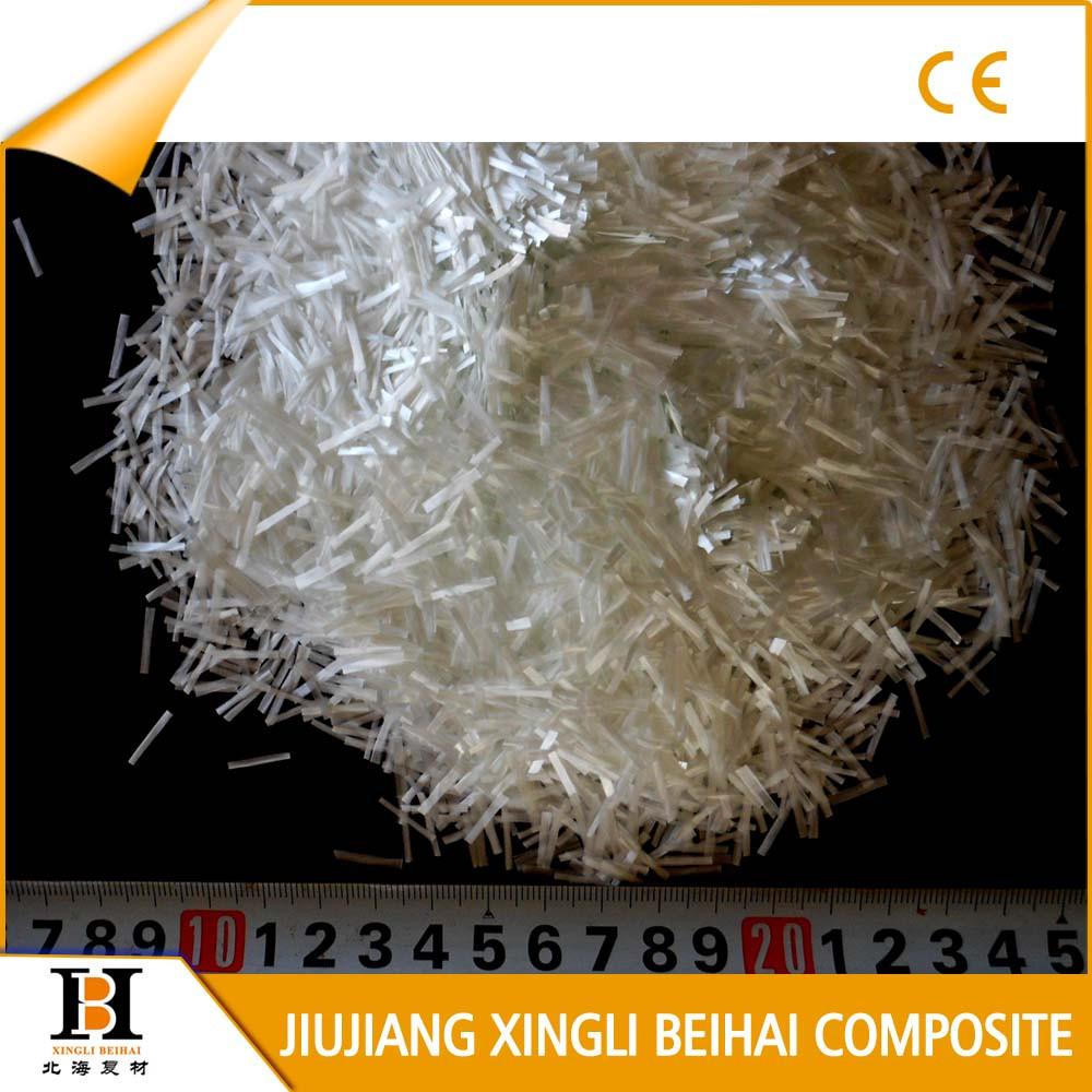 High bulk density fiberglass e glass chopped strands buy for Fiberglass density