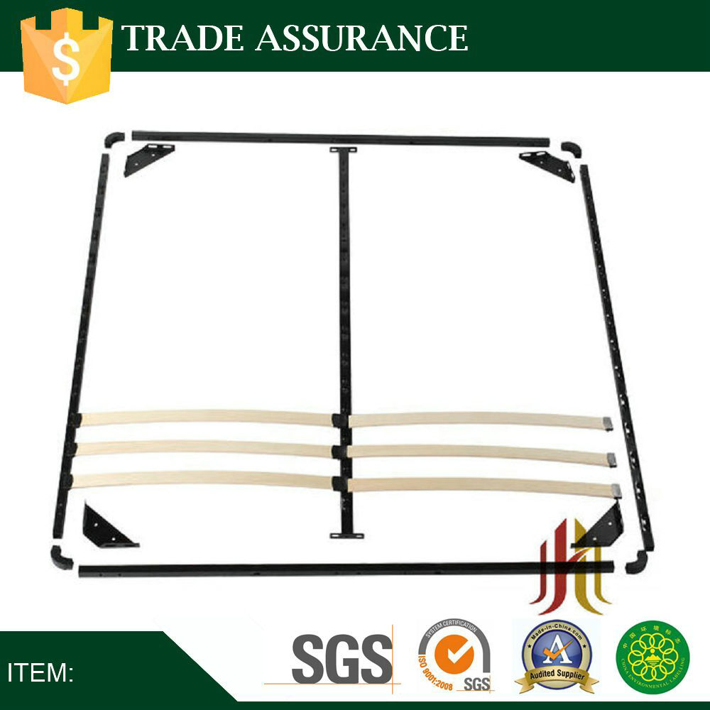 Assembly wooden slats bed base
