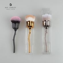 Private Label <span class=keywords><strong>Synthetische</strong></span> Pulver Erröten Make-Up <span class=keywords><strong>Pinsel</strong></span> <span class=keywords><strong>Set</strong></span>, Individuelles Logo Professionelle Nagel Make-Up <span class=keywords><strong>Pinsel</strong></span> Kit, rose Blume Make-Up <span class=keywords><strong>Pinsel</strong></span>