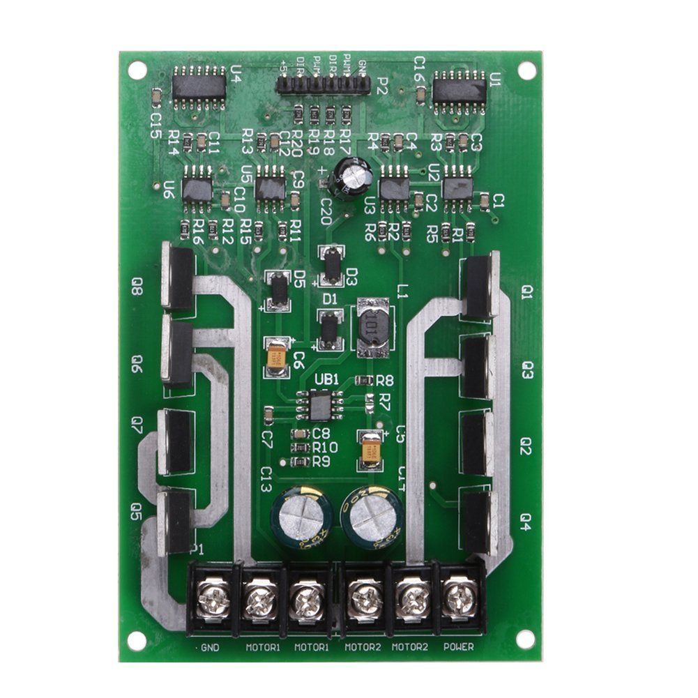 Cheap Mosfet Driver Circuit Find Deals On Laser Diode Diagram Get Quotations Alloet Dual Motor Module Board H Bridge Dc Irf3205 3 36v 10a
