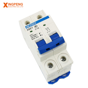 China new safety miniature circuit breaker 6ka mcb rccb elcb mccb 2 pole 20amp small mcb