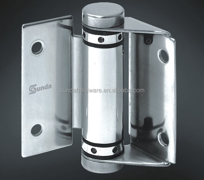 Stainless Steel Frameless Self Closing Glass Gate Hinge SAS003B