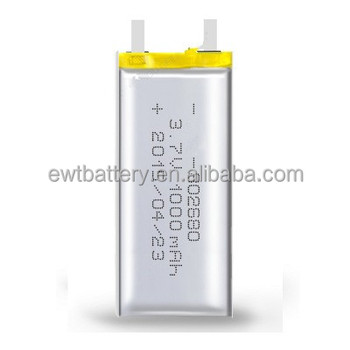 802680 082680 Li-ion Battery 3.7v 1000mah Lipo Battery Li Ion ...