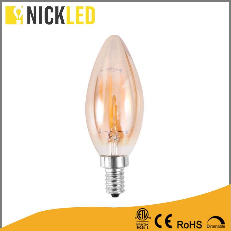 Manufacturer Supplier 6w 3000k globe led filament bulb b22 OEM