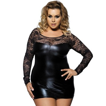 2016 Plus Size Latest Unique Sexy Sexy Lace Dress For Fat Lady Buy