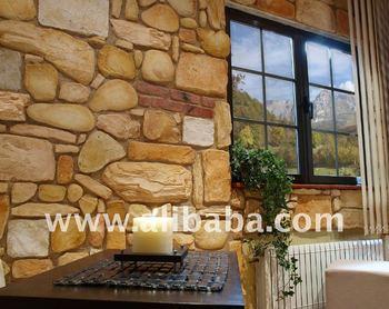 Piedra artificial decorativa para interior y exterior for Precios de piedra decorativa para interiores