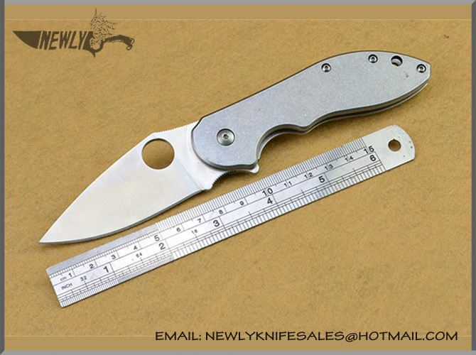 Popular Army Knife Tactical D2 Knife Folding