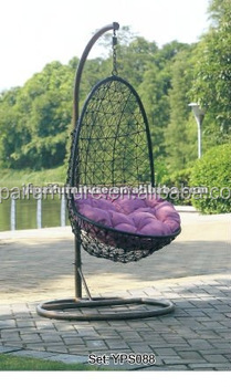 Patio Hanging Chair Iron Swing Balcony Terrace Swing YPS088
