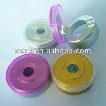 Tear Off Lid/Cap, Esay-pull Aluminum Plastic Caps, all kines Caps Tops for Injection Bottle