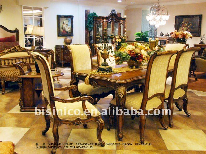 Antiguos juegos de comedor elegantes mesa comedor silla for Sillas comedor elegantes