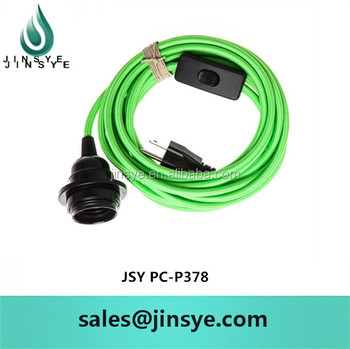 Apple Green Round Electrical Wire Colors Power Cable Nispt-2 Power ...