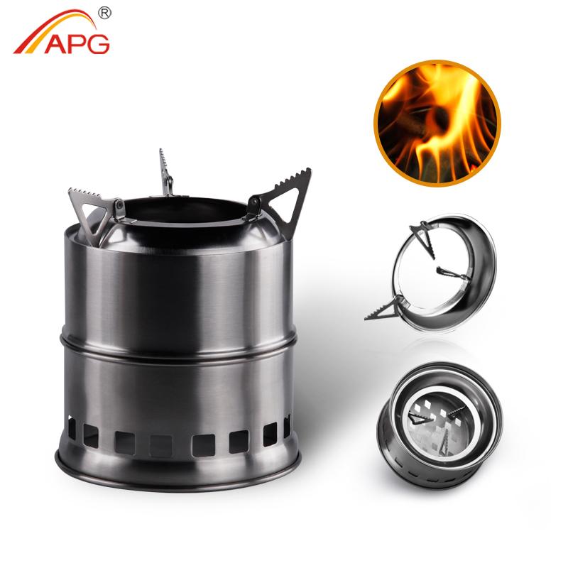 Apg Portable Mini Camping Wood Burning Stove   Buy Camping Wood Stove,Wood  Burning Stove,Portable Burning Stove Product On Alibaba.com