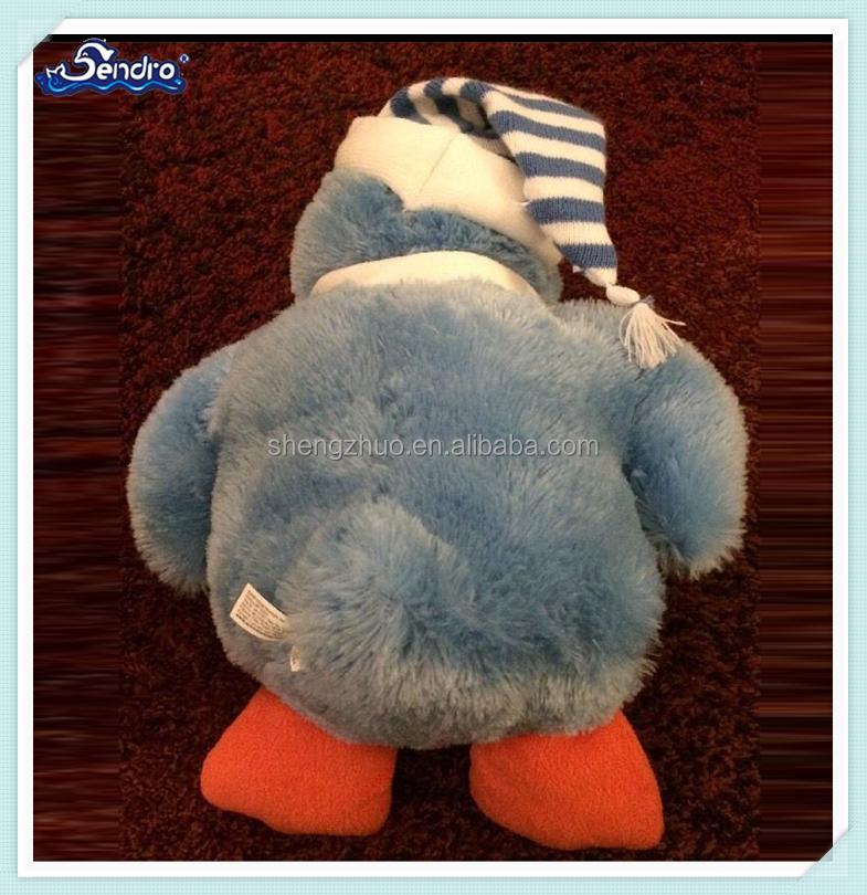 Weihnachten neue design weiche stofftier Blau Pinguin spielzeug ...