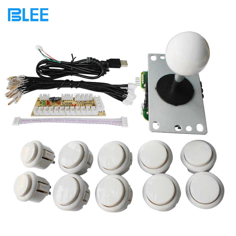 Low price arcade game parts manufacturer direct wholesale DIY zero delay switch push buttons and joysticks set