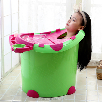 Hot Selling Standing Baby Bath Tub - Buy Large Plastic Bathtub ...