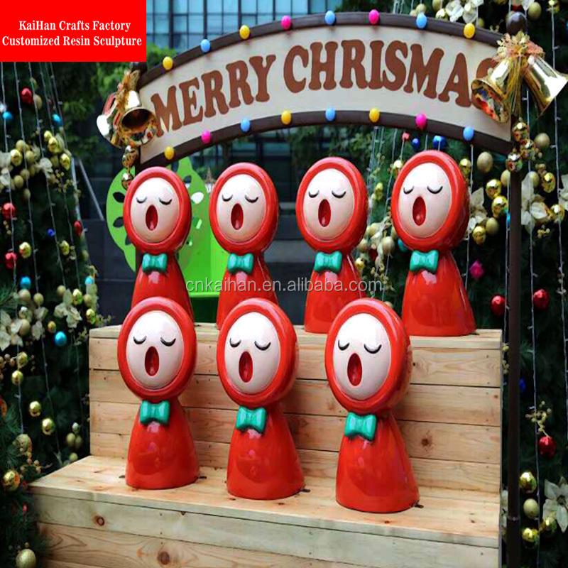 Christmas Decorations Store In Singapore: Large Fiberglass Shopping Mall Christmas Decorations