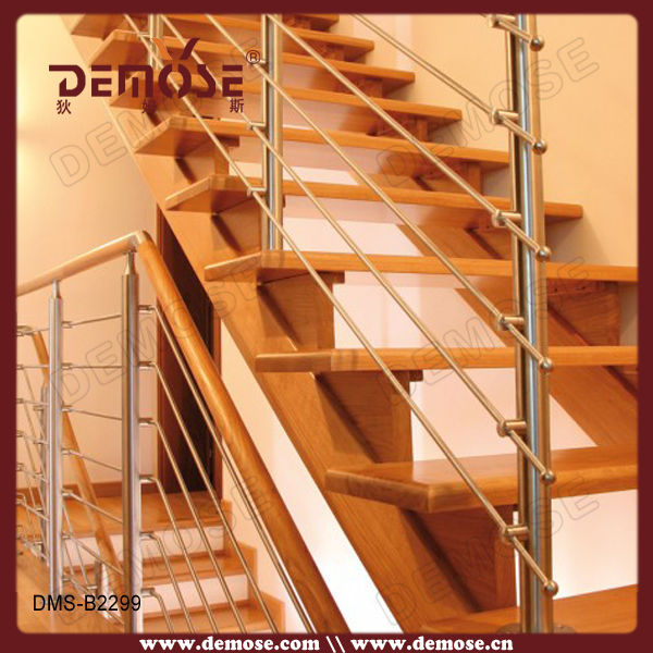 Hand Railings For Stairs Outside/round Wood Stair Railings