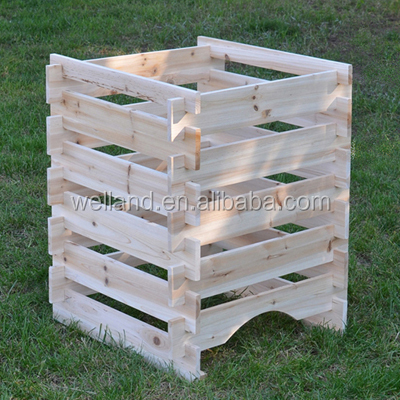 Wooden Composter, Wood Compost Bin