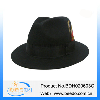 Jewish Borsalino Broner Hats Design Men Wool Felt Fedora Hats - Buy ... 578df897f7d7