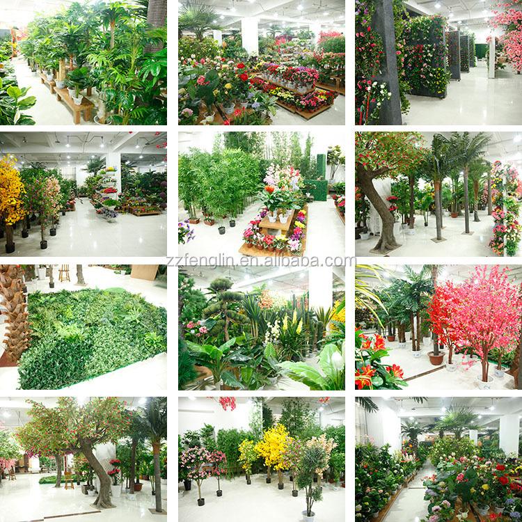 Factory Wholesale Green Artificial Vine Leaves Garden Decorative Plastic Artificial  Flowers Vine Fake Rattan Ivy Vine