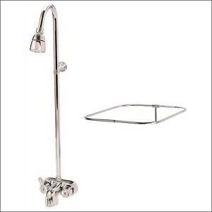 72 tub shower combo. Get Quotations  CLAWFOOT TUB SHOWER DIVERTER FAUCET CURTAIN ROD COMBO Cheap 72 Tub Shower Combo Find Deals On Line At